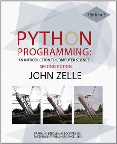 Python Programming: An Introduction to Computer Science, 2/e (Paperback)-cover