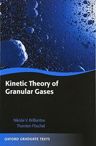 Kinetic Theory of Granular Gases (Paperback)-cover