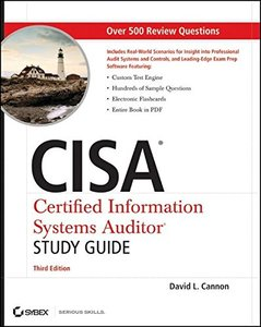 CISA Certified Information Systems Auditor Study Guide, 3/e (Paperback)-cover