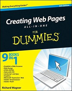 Creating Web Pages All-in-One For Dummies, 4/e (Paperback)-cover