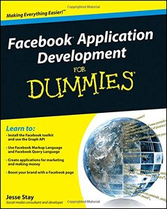 Facebook Application Development For Dummies (Paperback)-cover