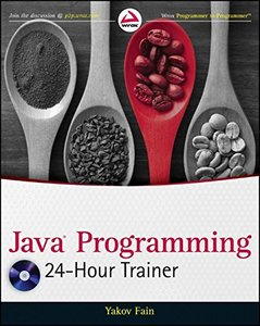 Java Programming 24-Hour Trainer (Paperback)-cover