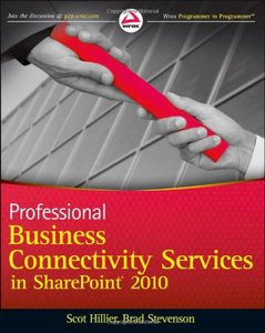 Professional Business Connectivity Services in SharePoint 2010 (Paperback)-cover