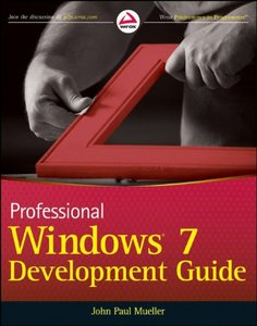 Professional Windows 7 Development Guide (Paperback)-cover