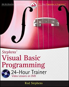 Stephens' Visual Basic Programming 24-Hour Trainer (Paperback)-cover