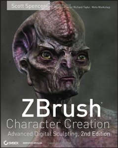 ZBrush Character Creation : Advanced Digital Sculpting, 2/e (Paperback)-cover