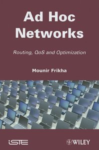 Ad Hoc Networks (Hardcover)-cover
