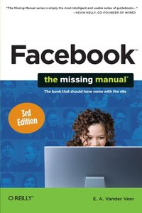 Facebook: The Missing Manual, 3/e (Paperback)-cover