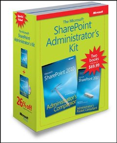 Microsoft SharePoint Administrator's Kit (Paperback)-cover