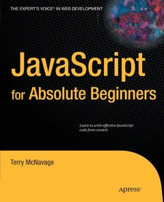 JavaScript for Absolute Beginners (Paperback)-cover