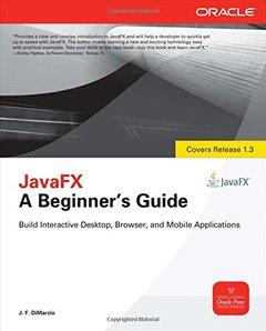JavaFX A Beginner's Guide (Paperback)-cover