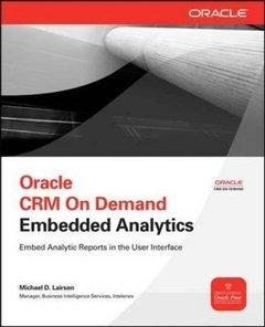 Oracle CRM On Demand Embedded Analytics (Osborne ORACLE Press Series)-cover