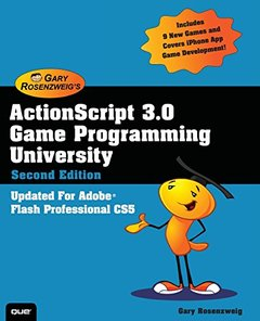 ActionScript 3.0 Game Programming University, 2/e (Paperback)-cover