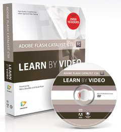 Adobe Flash Catalyst CS5: Learn by Video (Hardcover)-cover