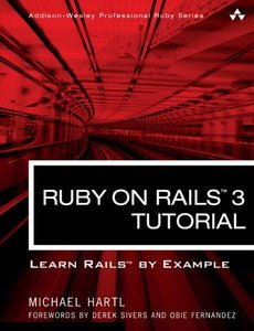 Ruby on Rails 3 Tutorial: Learn Rails by Example (Paperback)-cover