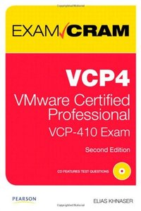 VCP4 Exam Cram: VMware Certified Professional, 2/e (Paperback)-cover