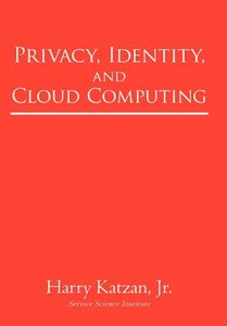 Privacy, Identity, and Cloud Computing (Paperback)-cover