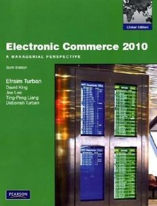Electronic Commerce 2010: A Managerial Perspective (IE-Paperback)-cover