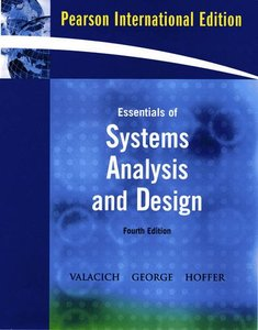 Essentials of System Analysis and Design, 4/e (IE-Paperback)