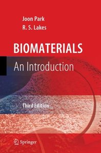 Biomaterials: An Introduction, 3/e (Hardcover)-cover