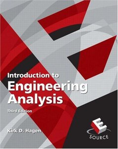 Introduction to Engineering Analysis, 3/e-cover
