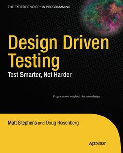 Design Driven Testing: Test Smarter, Not Harder (Paperback)-cover