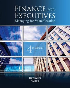 Finance for Executives: Managing for Value Creation, 4/e (Hardcover)-cover