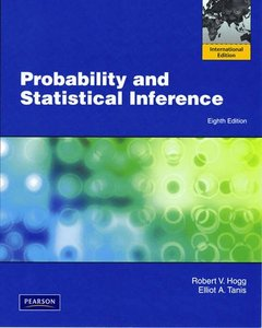 Probability and Statistical Inference, 8/e (IE-Paperback)-cover