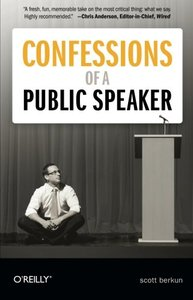 Confessions of a Public Speaker (Paperback)-cover
