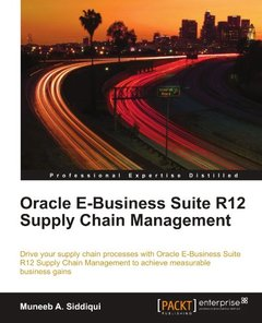 Oracle E-Business Suite R12 Supply Chain Management-cover