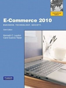 E-Commerce 2010 : Business , Technology , Society, 6/e (IE-Paperback)-cover