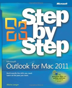 Microsoft Outlook for Mac 2011 Step by Step (Paperback)-cover