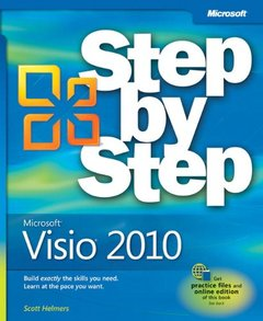 Microsoft Visio 2010 Step by Step: The smart way to learn Microsoft Visio 2010-one step at a time! (Paperback)-cover