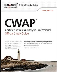 CWAP: Certified Wireless Analysis Professional Official Study Guide: Exam PW0-270 (Paperback)-cover