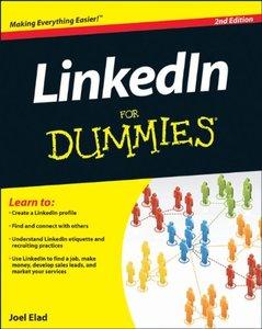 LinkedIn For Dummies, 2/e (Paperback)-cover