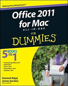 Office 2011 for Mac All-in-One For Dummies (Paperback)-cover