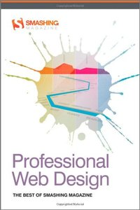 Professional Web Design: The Best of Smashing Magazine (Paperback)-cover
