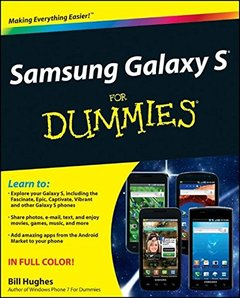 Samsung Galaxy S For Dummies (Paperback)-cover