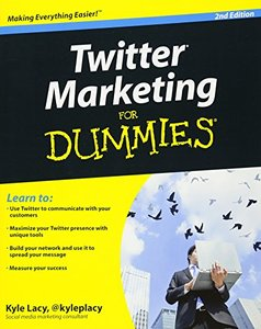 Twitter Marketing For Dummies, 2/e (Paperback)-cover