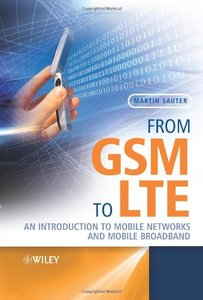 From GSM to LTE: An Introduction to Mobile Networks and Mobile Broadband (Hardcover)-cover