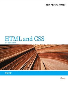 New Perspectives on HTML and CSS: Brief , 6/e (Paperback)-cover