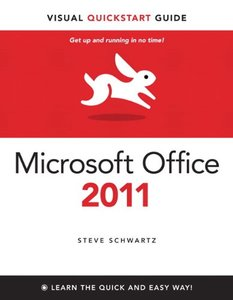 Microsoft Office 2011 for Mac: Visual QuickStart Guide (Paperback)-cover