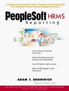 PeopleSoft HRMS Reporting (Paperback)