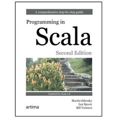 Programming in Scala: A Comprehensive Step-by-Step Guide, 2/e (Paperback)-cover