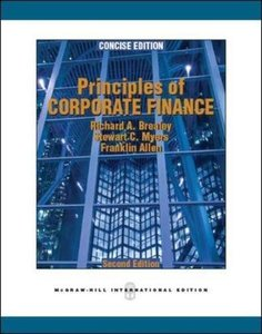 Principles of Corporate Finance Concise Edition, 2/e (IE-Paperback)-cover