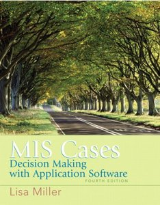 MIS Cases: Decision Making wih Application Software, 4/e-cover