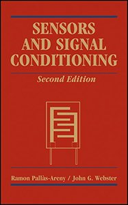 Sensors and Signal Conditioning, 2/e (Paperback)-cover