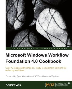 Microsoft Windows Workflow Foundation 4.0 Cookbook (Paperback)-cover