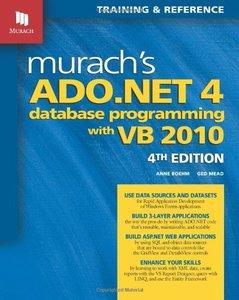 Murach's ADO.NET 4 Database Programming with VB 2010, 4/e (Paperback)-cover