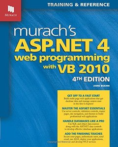 Murach's ASP.NET 4 Web Programming with VB 2010, 4/e (Paperback)-cover